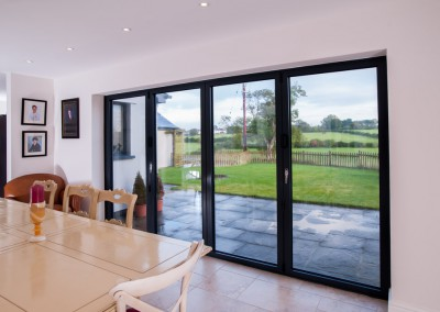 Bifold doors - Black
