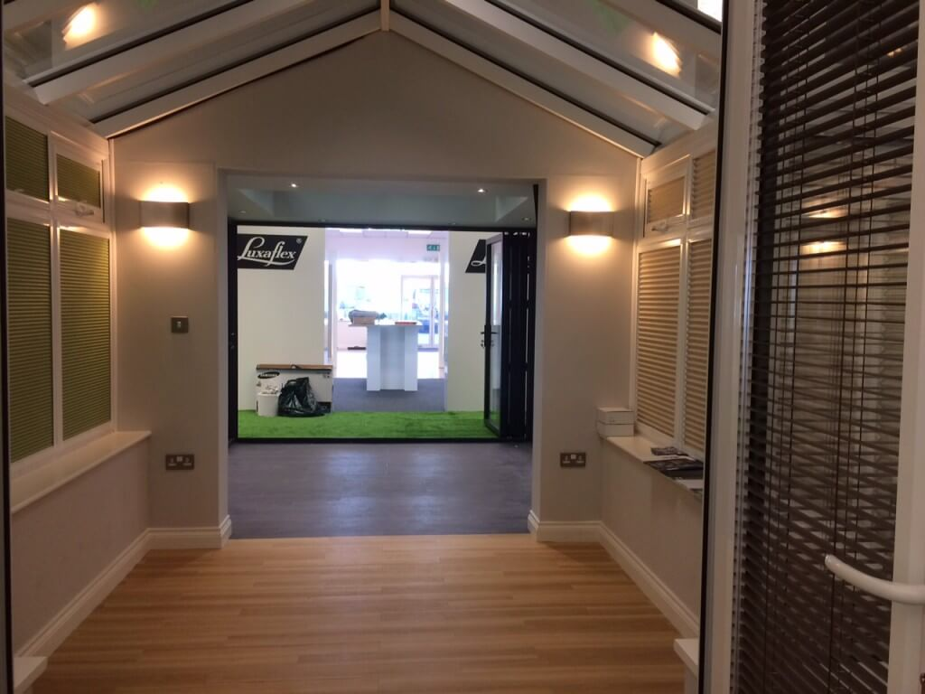 PVCu Conservatory at our Cardiff Showroom