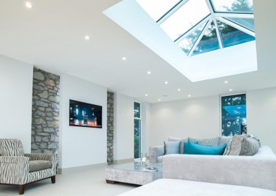 White Roof Lantern Interior