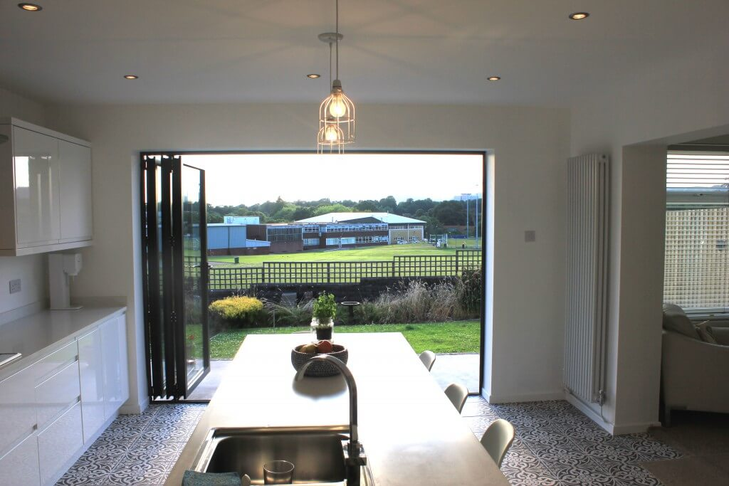 Bifold Doors Wide Open