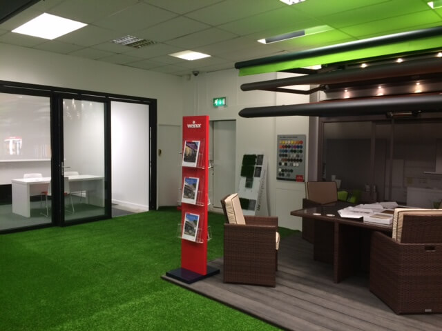 We have two sets of bifolds for you to use in our Cardiff Showroom