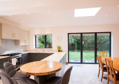 Open plan kitchen - Interior