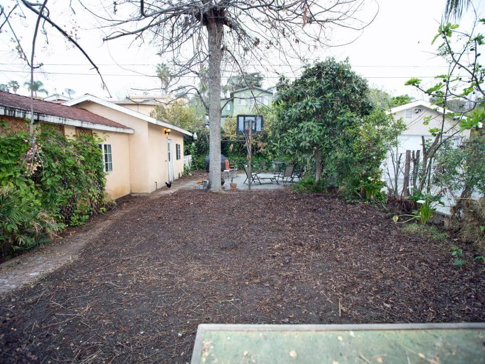 Garden 4 before