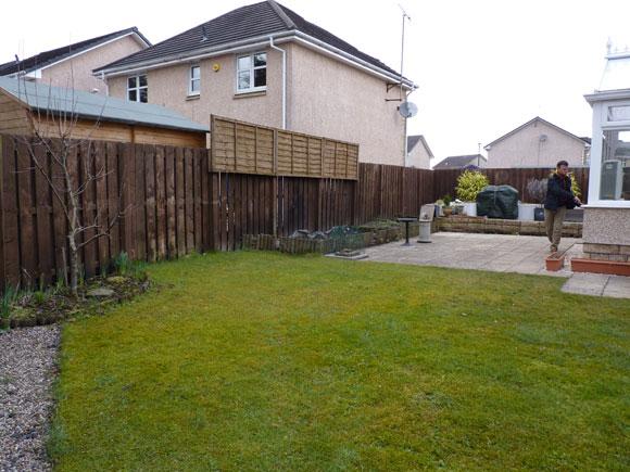 garden 9 - before
